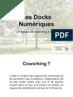 Présentation de l'espace de coworking à Dijon