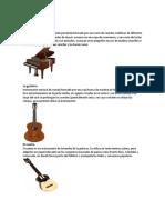 10 Instrumentos de cuerda, Viento y Percusion.docx