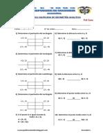 Practica Calificada de Geometria Analitica Elemental Ccesa007