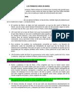 LOS PRIMEROS AÑOS DE MARÍA.docx