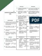 Analisis Foda y Matriz Foda 2609