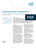 Intel White Paper Optimizing Hadoop Deployments