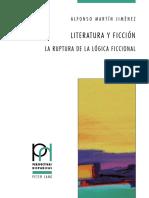 (Perspectivas hispánicas) Alfonso Martín Jiménez - Literatura y ficción_ La ruptura de la lógica ficcional-Peter Lang GmbH, Internationaler Verlag der Wissenschaften (2015).pdf