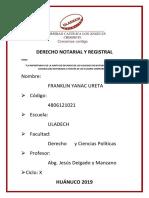 Importancia de La Junta de-Decanos Del Colegio de Notarios Del Peru Consejo Del Notariado