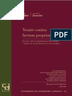 Borda, Alejandro. - La teoría de los actos propios. Un análisis desde la doctrina argentina.pdf