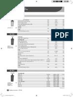 Catalogo de bobinas olimpic