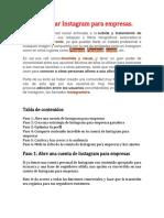 Cómo usar Instagram para empresas y facebook.docx