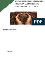 DISEÑO DE IMPLEMENTACION DE UN PLAN DE MARKETING PARA LA EMPRESA  DE CHOCOLATES ORGANICOS.docx