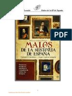 Cardona Gabriel Y Losada Juan Carlos - Malos De La Historia De España.pdf