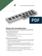 Guia Instalacion Memoria RAM