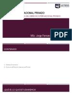 3. EVOLUCIÓN HISTORICA DEL DERECHO INTERNACIONAL PRIVADO