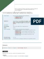 padding - CSS
