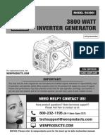 WEN 56380i Manual