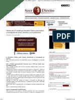 Plenário do STF decide que Ministério Público pode realizar a investigação de crimes, atendidos certos parâmetros (1).pdf
