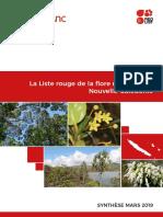 Liste Rouge Flore NC 2019