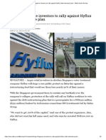 Angry Singapore investors to rally against Hyflux debt-restructure plan - Nikkei Asian Review.pdf