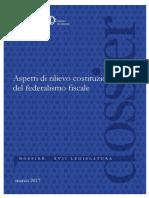 Federalismo Fiscal Regionale