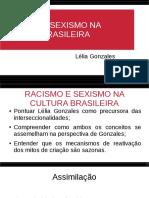 LELIA GONZALES RACISMO E SEXISMO.odp