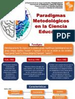 Paradigmas Metodológicos de La Ciencia Educativa
