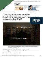 Sept 2018 blackout cause