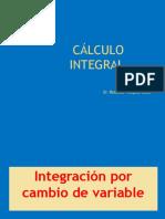 3 Integración Por Cambio de Variable