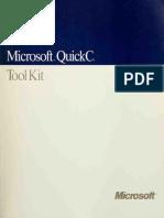 Microsoft QuickC _ tool kit - Microsoft Corporation.pdf