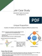 Quikr Case Study