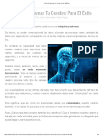 Cómo Programar Tu Cerebro Para El Éxito.pdf