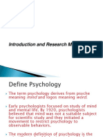Introduction and Research Methods (BBA First chapter