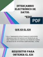 Intercambio Electrónico de Datos Exposicion