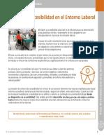 Accesibilidad en El Entorno Laboral