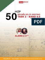 IELTS BAND 9.0 WRITING