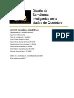 Semáforos inteligentes en la ciudad de Querétaro