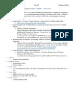 multigenre paper outline