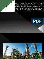 Obligaciones ambientales