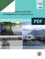 On Farm Feeding and Feed Management Aquaculture
