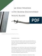 Wootz Blades