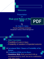 Risk and Rates of Return