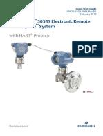 Quick Start Guide Rosemount 3051s Ers Electronic Remote Sensors Hart Protocol en 88170