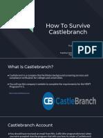 deliverable - how to survive castlebranch