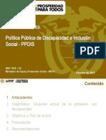 CONPES DISCAPACIDAD E INCLUSIO¿N SOCIAL_08112013.pptx
