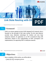HC110110017 Link State Routing With OSPF