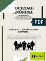Sociedad Anonima Actualizada Para Exponer