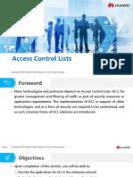HC110110027 Access Control Lists