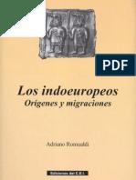 Romualdi, Adriano. - Los Indoeuropeos Orígenes y Migraciones [2002]