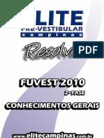 Elite Resolve Fuvest 2fase 2010-Geral