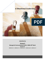 Case Study Situational Leadership- Group 4