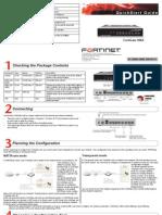 FortiGate-100A Quick Start Guide