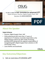 ASUG82928 - Whats New in SAP S4HANA for Advanced ATP.pdf
