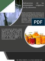 Aplicaciones de las propiedades coligativas en los alimentos.pptx